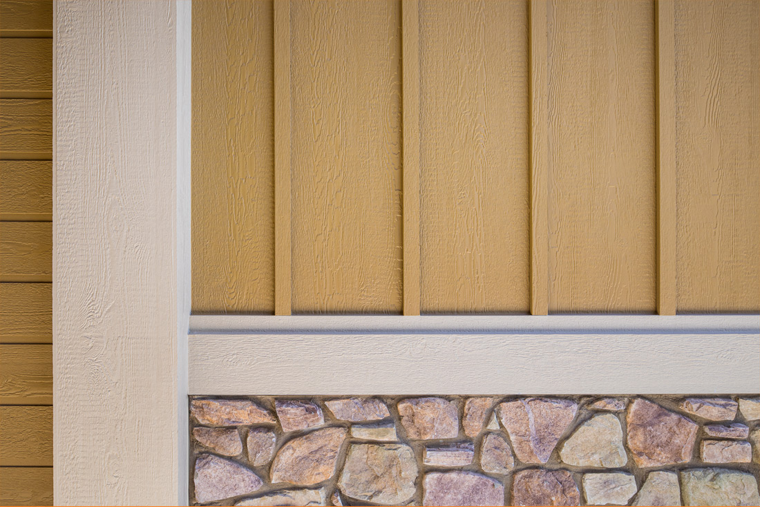 Reversible Trim, Square Edge Panel, Channel Rustic Lap